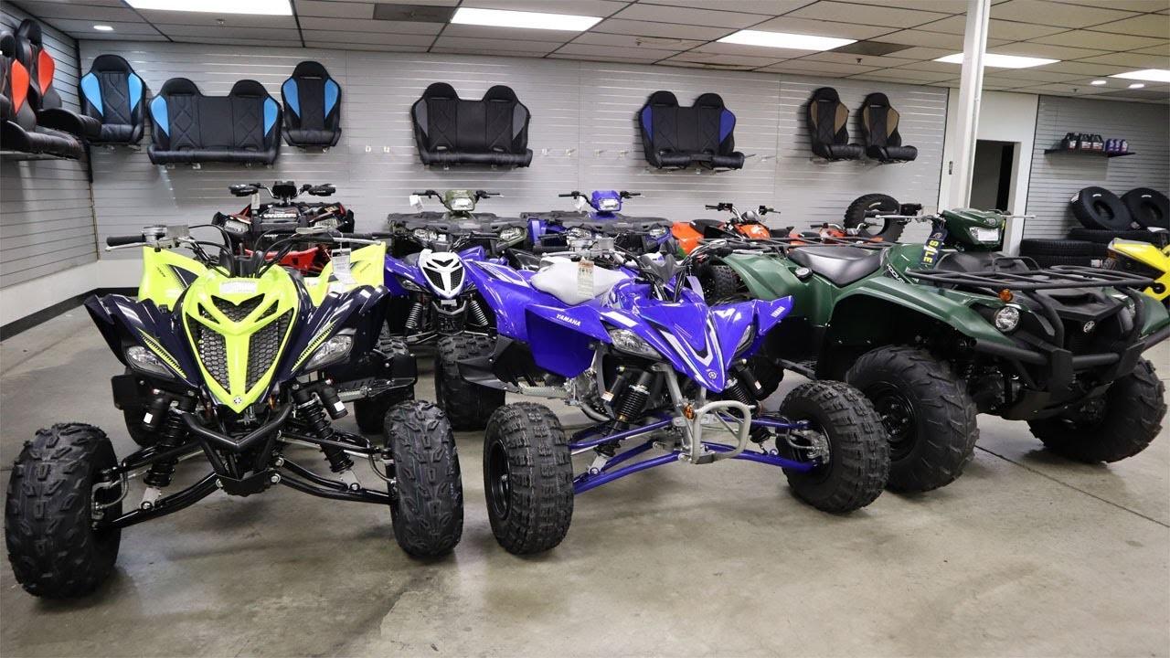 Los ATV motocicletas de 4 ruedas  (image)