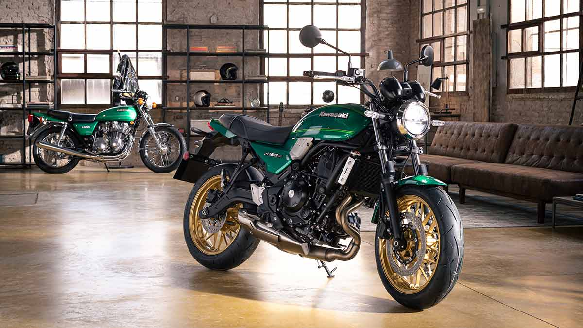 Kawasaki Z650RS 2022: una bicilíndrica hermosa (image)