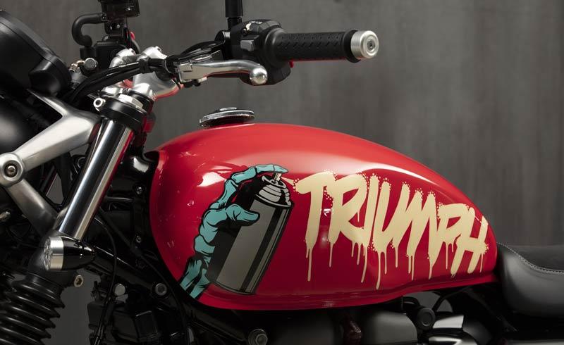 triumph street twin 2019 custom