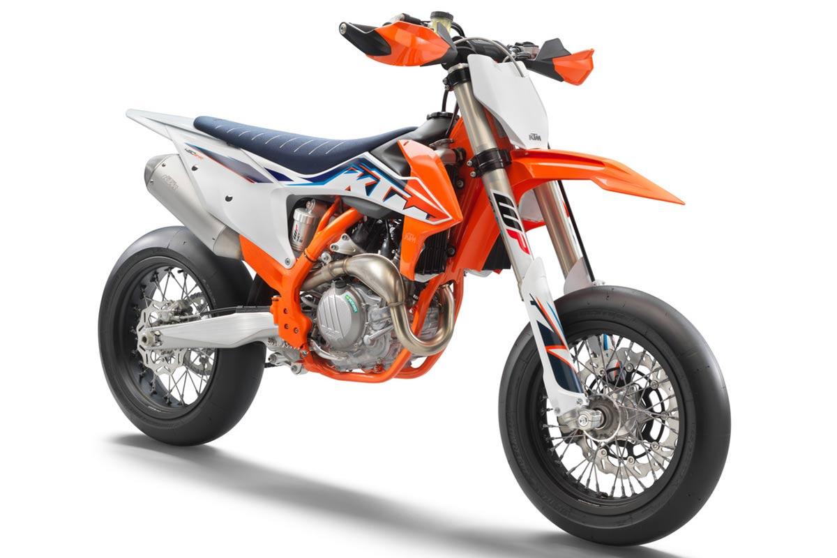 KTM 450 SMR 2022: Poder naranja (image)