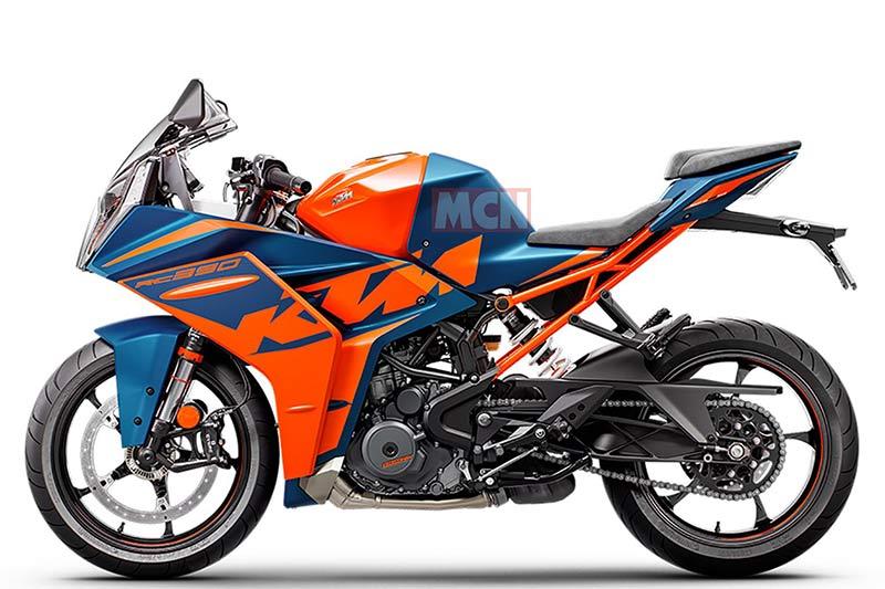 La nueva deportiva de KTM: RC 390 2022 renovada  (image)