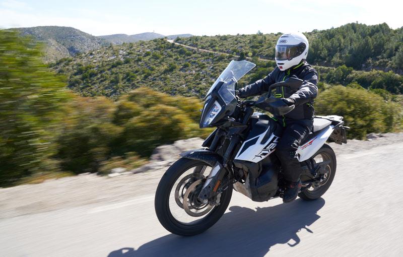 prueba ktm 790 adventure carretera