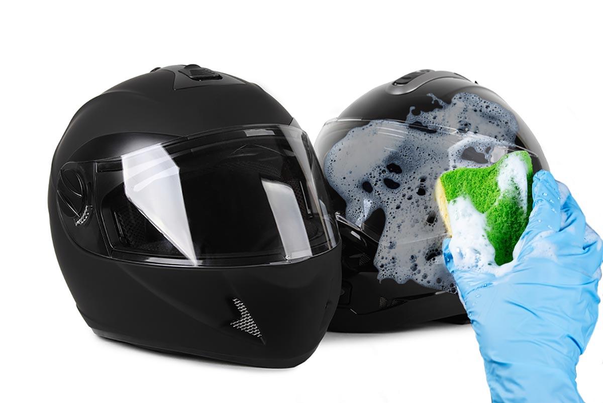 Cómo limpiar tu casco a fondo: consejos (image)
