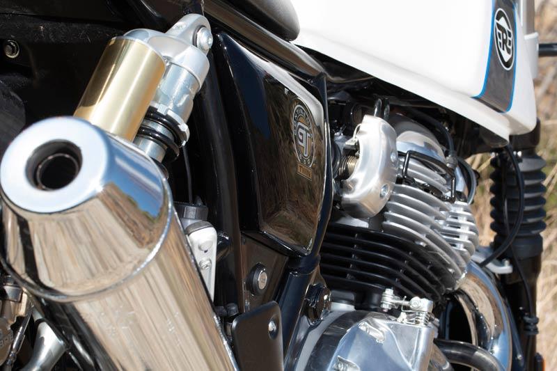royal enfield continental gt 650 prueba escape motor