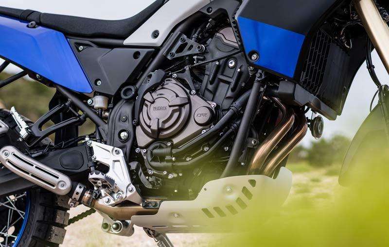 yamaha tenere 700 prueba detalles motor chasis