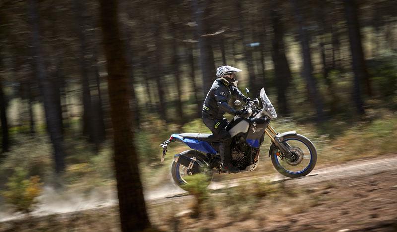 yamaha tenere 700 prueba off road bosque