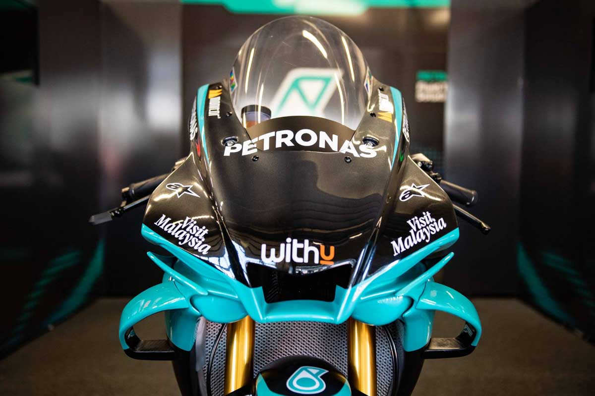 Yamaha YZF-R1 Petronas SRT Réplica: la moto del 46 (image)